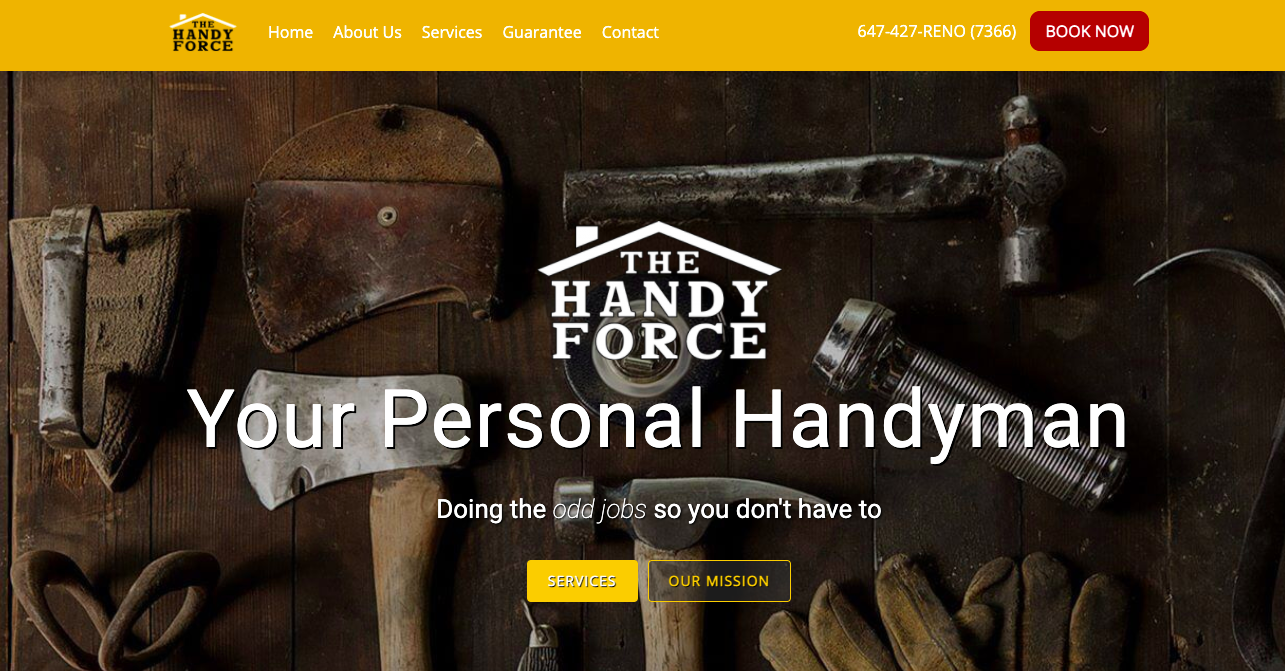 The Handy Force Website for North York