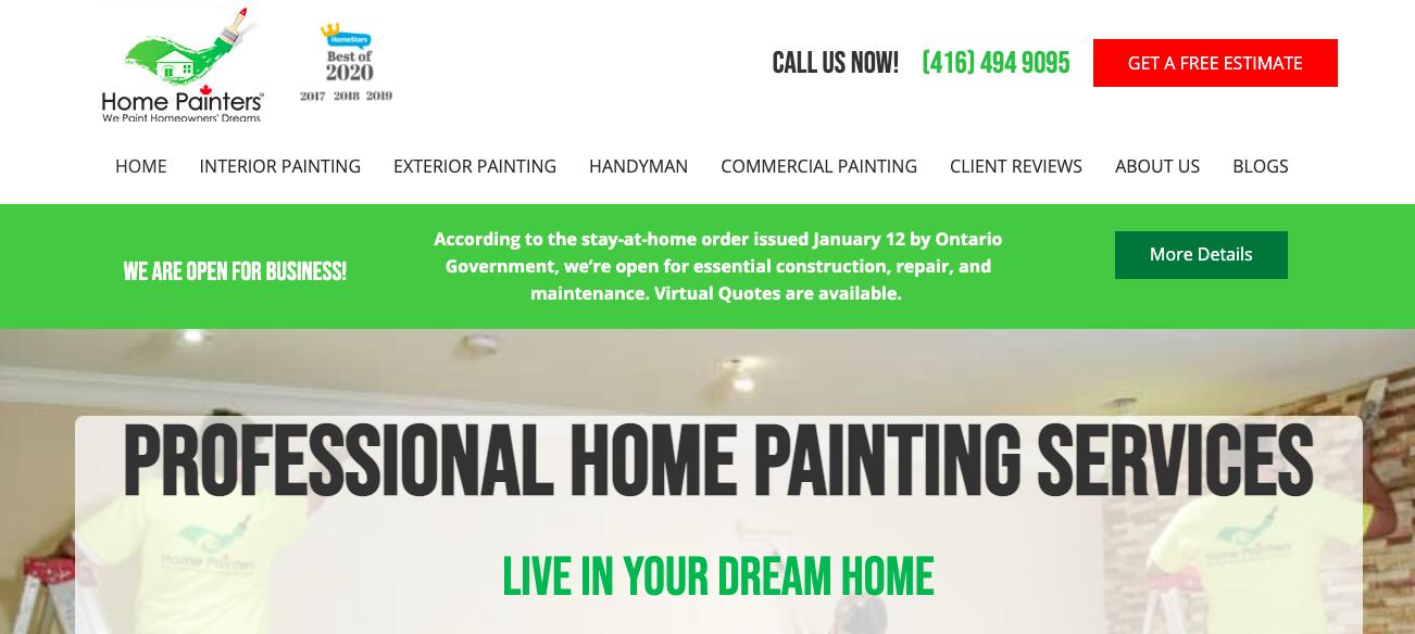 Home Painters Toronto Garage Painting