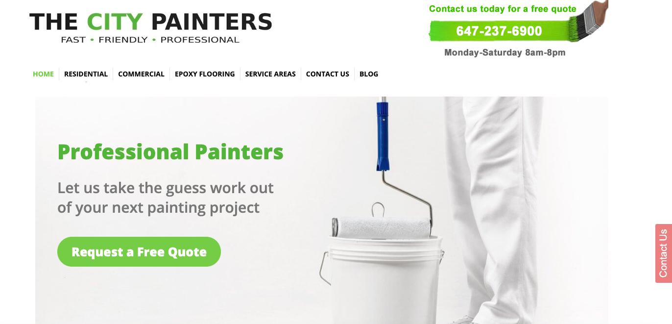 The City Painters Website