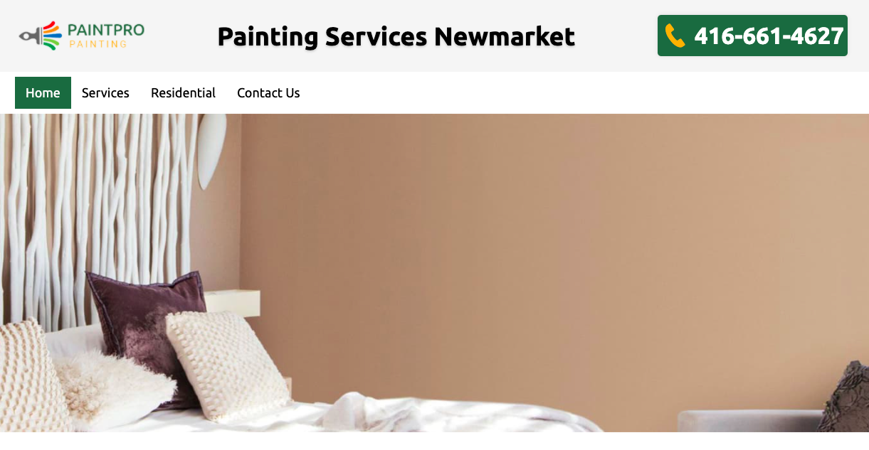 Paint Pro Painting in House Painter in Stouffville